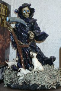 Death with cats